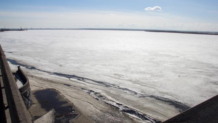 Первые взрывные работы на льду пройдут в Холмогорском районе