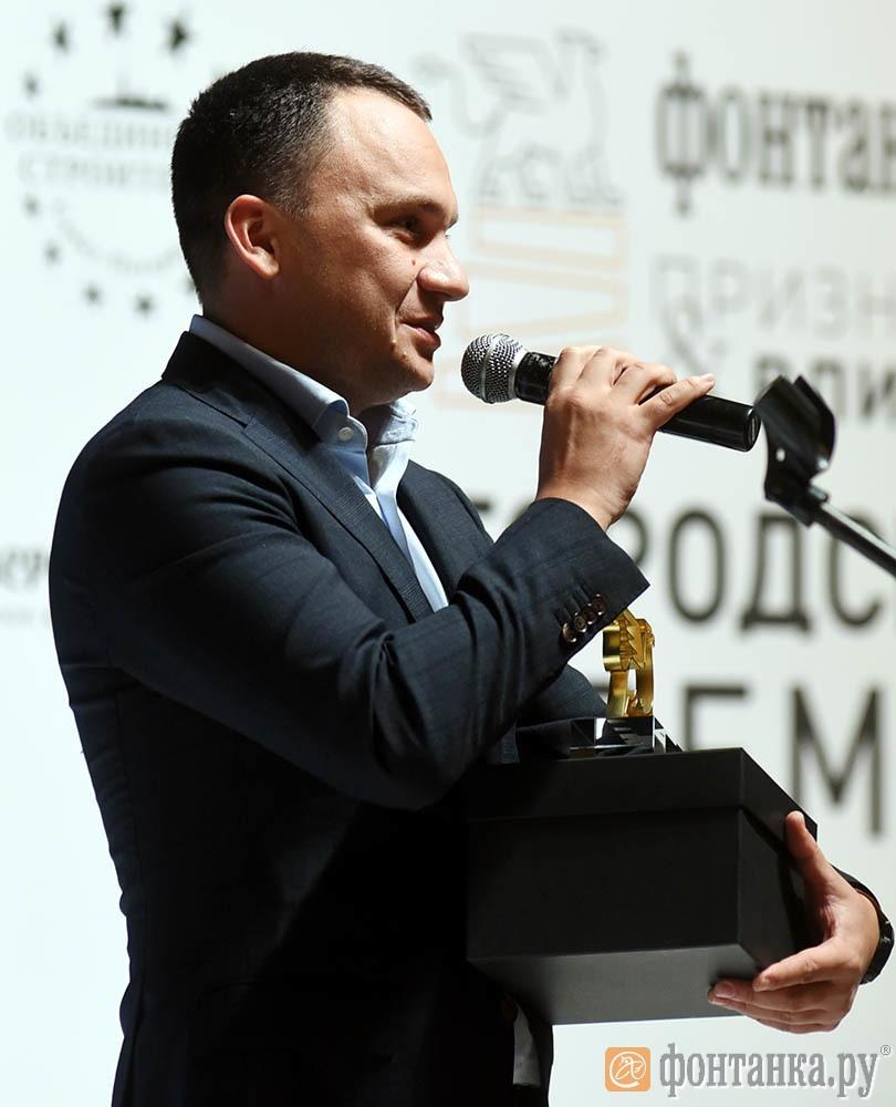директор филиала МТС в Петербурге и Ленинградкой области Павел Коротин
