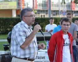 Игорь Сапко принял участие в занятии велошколы