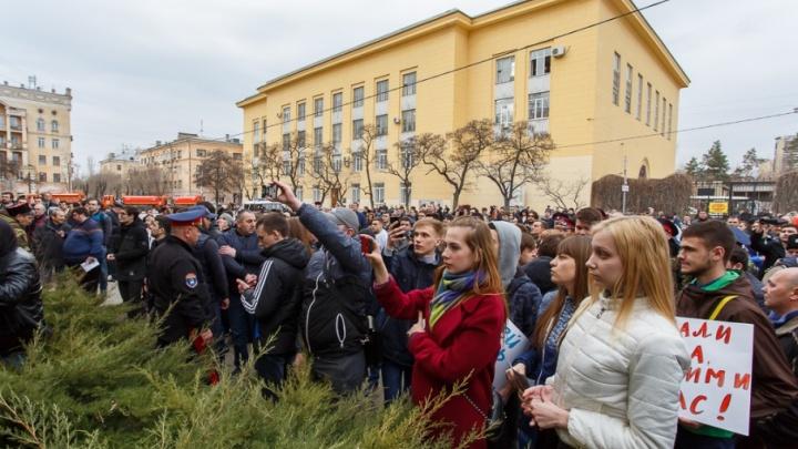 Патриоты Волгограда пообещали не отрывать Навальному ногу