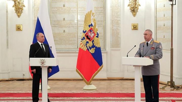 Самарский генерал доложил Путину об успехах Второй гвардейской армии