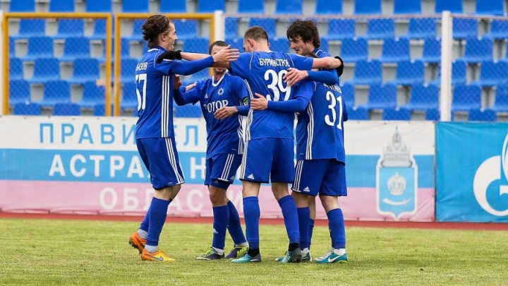 Волгоградский «Ротор» останется тренироваться в Астрахани
