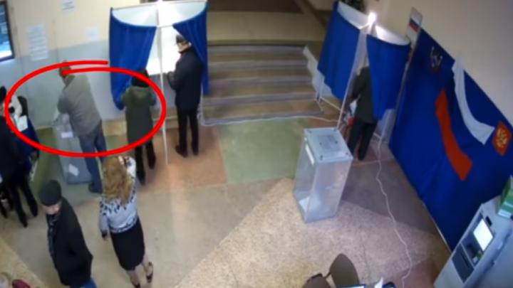 Источник: видео, на котором запечатлен вброс бюллетеней в Ростове, снято два года назад