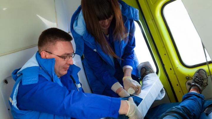 Челябинские медики обучали участников форума «УТРО» оказанию первой помощи