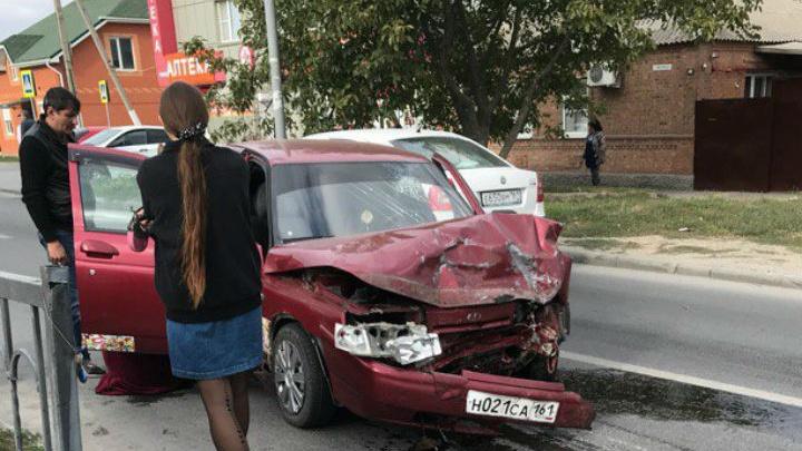 Подросток устроил аварию на Западном в Ростове