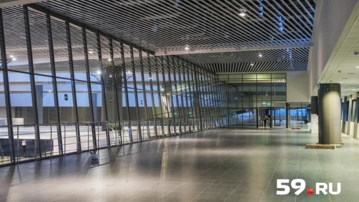 В Перми выбрали компанию, которая будет строить перрон в аэропорту