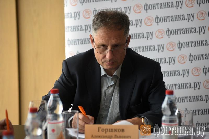 """Александр Горшков, главный редактор """"Фонтанки.ру"""""""