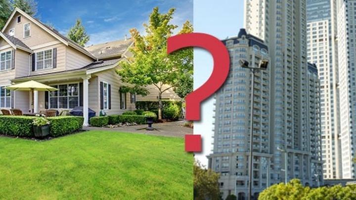 Жилищный вопрос: что выбрать – квартиру или частный дом