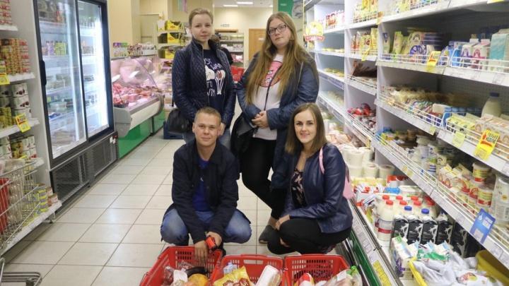Просроченные сыр, йогурт и курицу нашли в «Петровском» архангельские «хрюши»