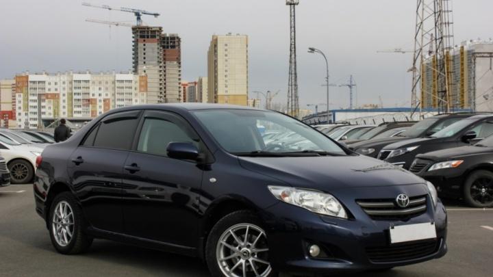 Подержанные автомобили в Челябинске подорожали