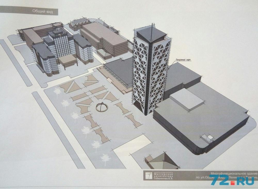 Здание, если его разрешат строить, будет высотой примерно 70 метров