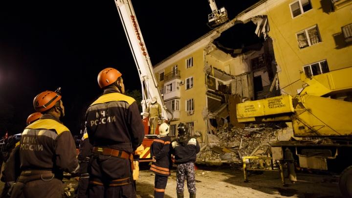 Взорвавшийся дом на Университетском проспекте Волгограда будет снесен