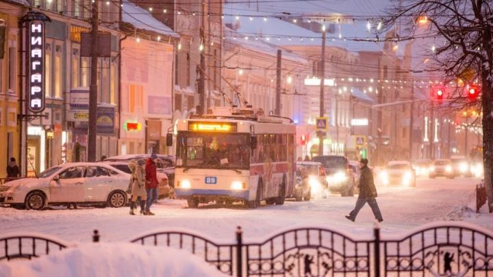 Самый снежный день: как Ярославль превратился в город из сказки