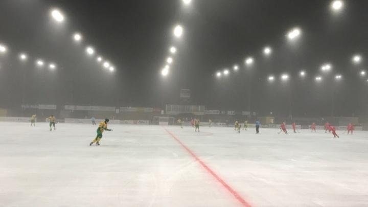 «Водник» сыграл вничью с «Уральским трубником» на международном ExTe Cupen