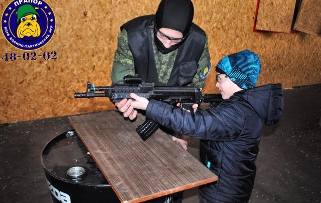 Лучший подарок ребенку – «Курс молодого бойца»