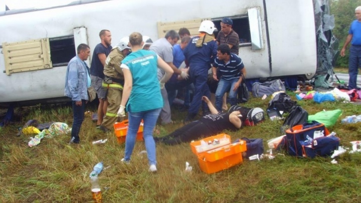 Умер один из пострадавших в аварии с автобусом на донской трассе