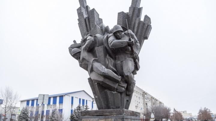 «Взрыв» в центре Городища под Волгоградом отремонтируют за полмиллиона
