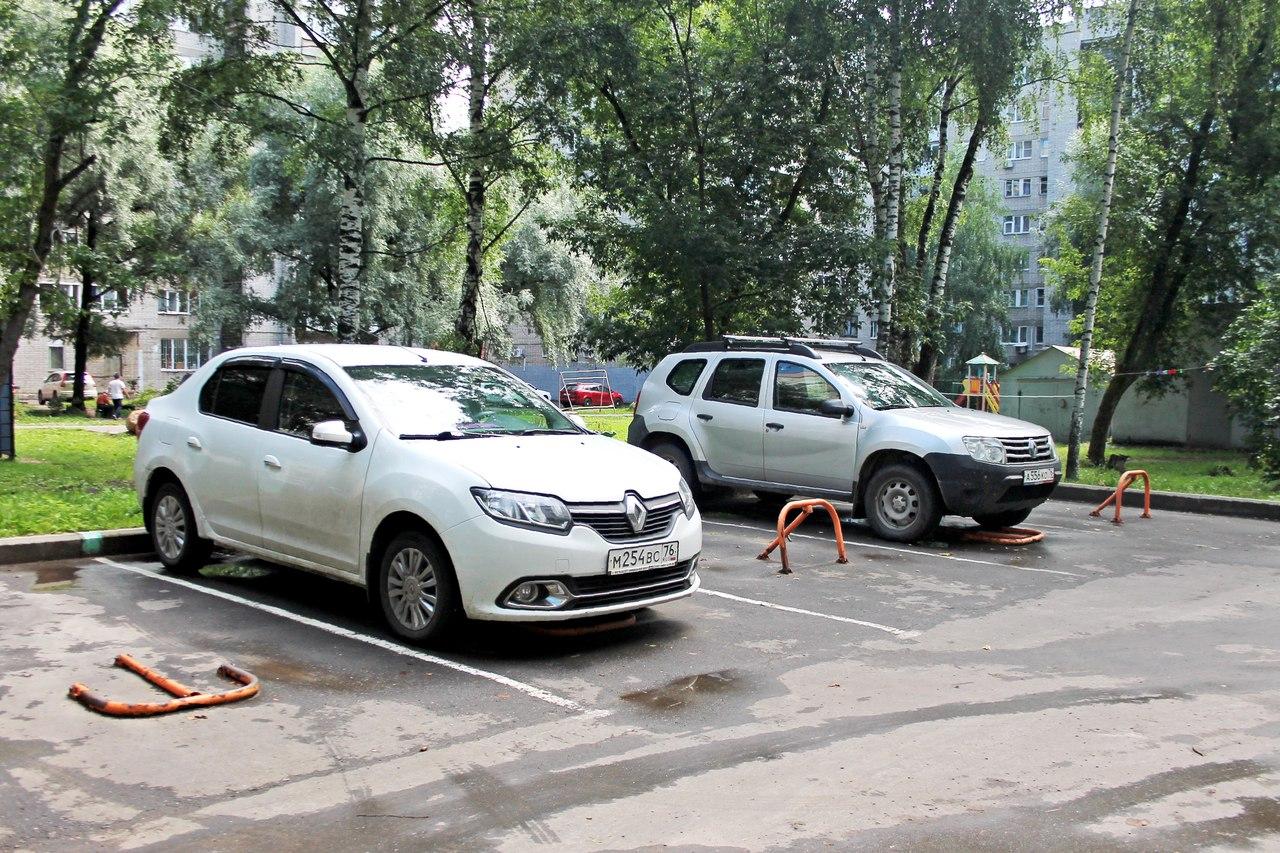 Ярославцам категорически не хватает мест для парковки у дома