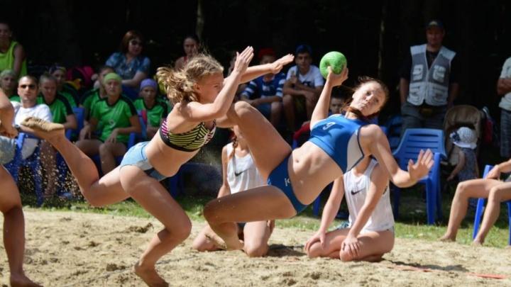 В Волгограде пройдет финал чемпионата страны по пляжному гандболу