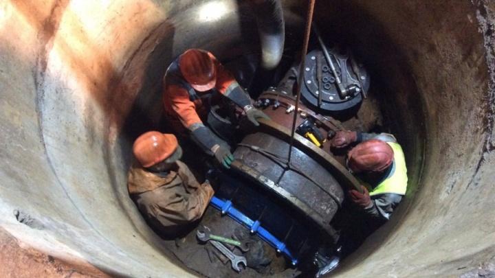 «Водоканал» отчитался о завершении ремонтных работ