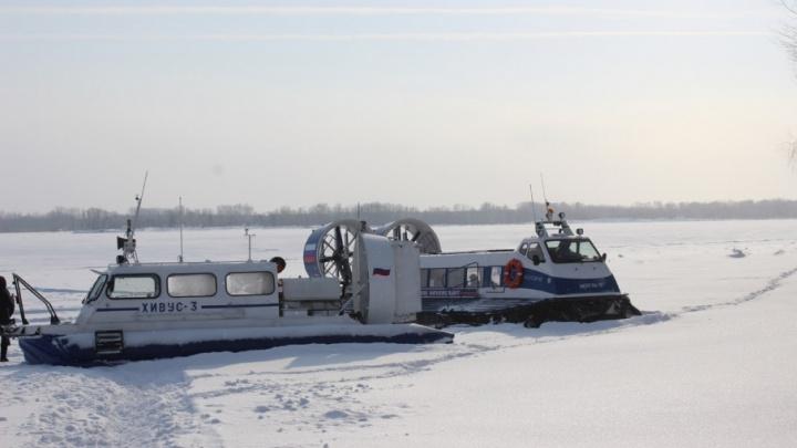 В Самарской области откроют ледовую  переправу 20 декабря