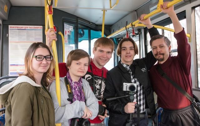 Литературный автобус вновь прокатится по Тюмени от вокзала до Войновки
