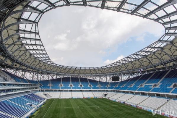 Волгоград считает подарки накануне чемпионата мира