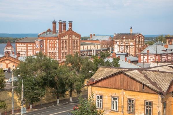 Архивное фото: здания мельницы-казармы и пивзавода — жемчужины архитектуры старой Самары