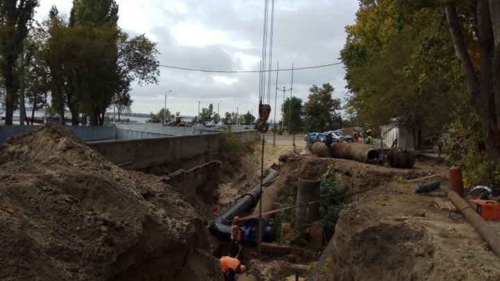 Волгоград обезводили из-за запуска новой водоочистной станции