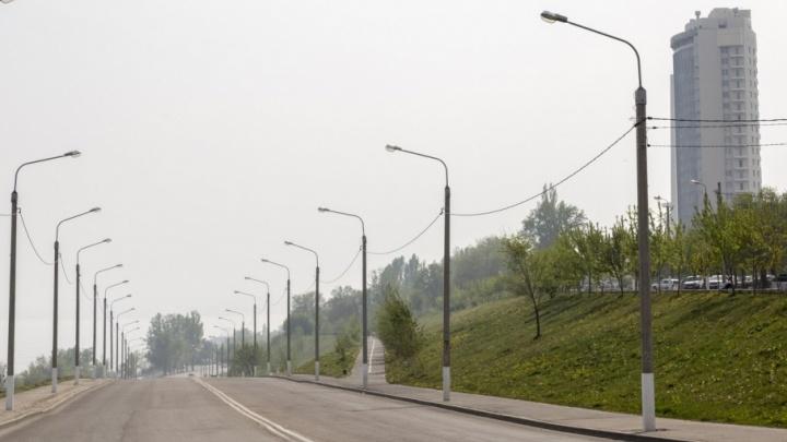 Районы Волгограда заволокло неизвестным смогом
