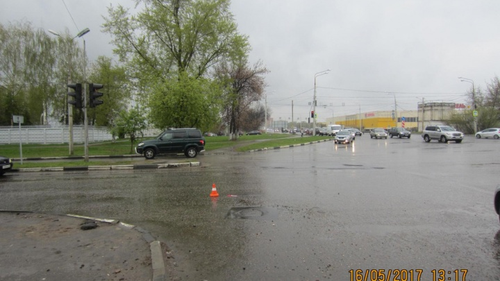 В Ярославле девушка-водитель сбила школьника на дороге