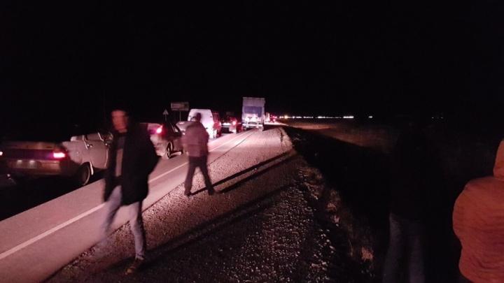 Движение по трассе Тюмень–ХМАО восстановлено