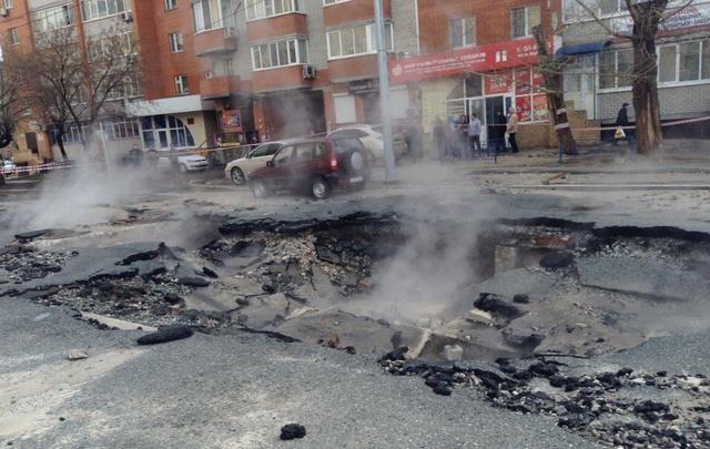 На улице Горького отремонтируют теплотрассу, не выдержавшую испытаний УТСК