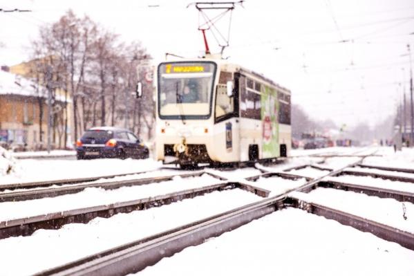 Депутаты предложили убрать трамваи с улицы Чкалова