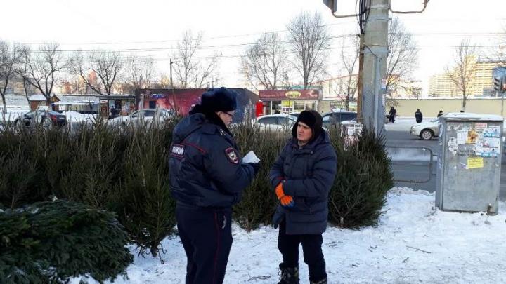 Из Челябинска депортируют троих продавцов новогодних ёлок