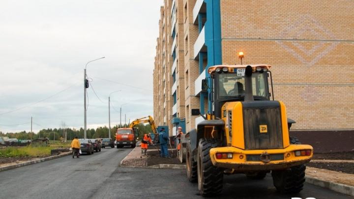 Канализацию соцжилья на Московском проспекте приведет в порядок застройщик