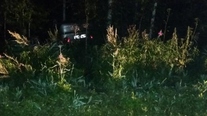 Под Тюменью перевернулся Daewoo Matiz: пострадали пять человек