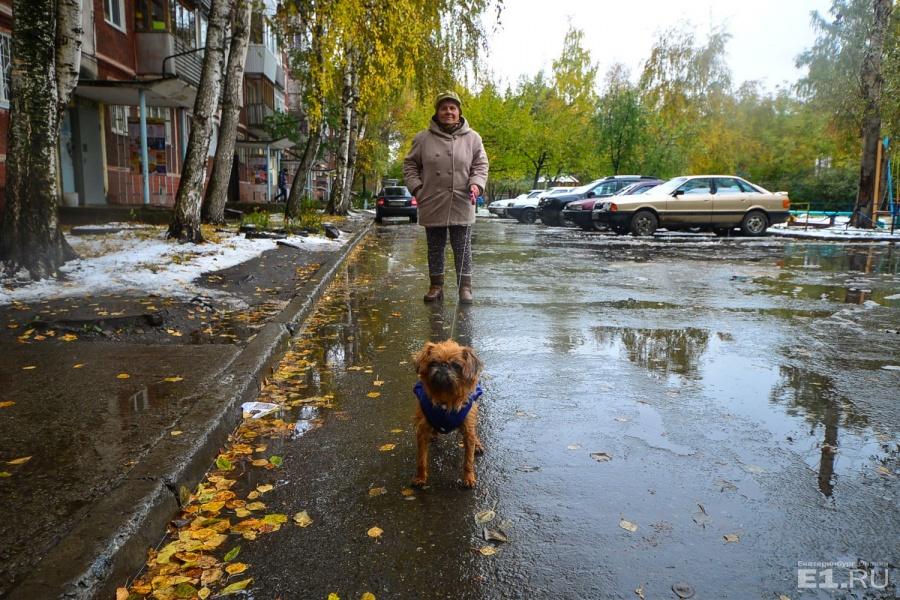 Тамара Новосёлова свой район любит, она живёт здесь уже 40 лет.