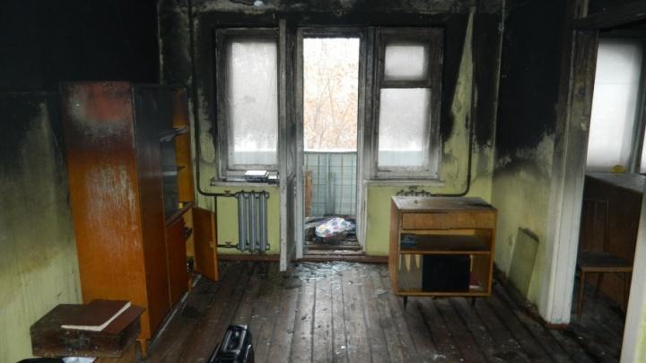 Задержали тюменца, который убил мужчину и поджег его в квартире на Парфенова