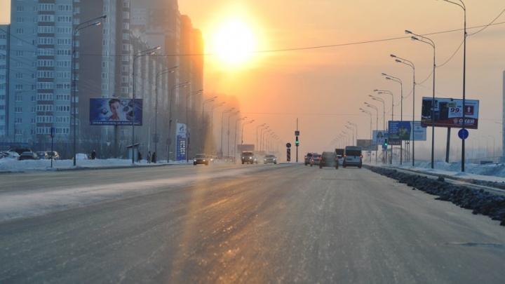 Тюменские автомобилисты жалуются на ограничение скорости на объездной до 70 километров в час