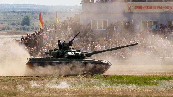 Танковый биатлон под Волгоградом сделали открытым для всех