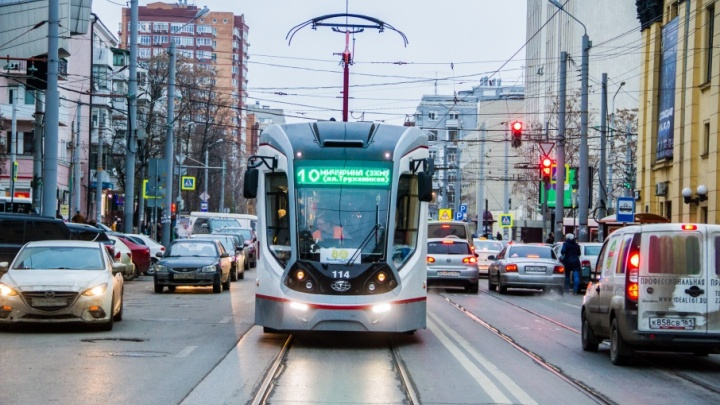 Маршрут трамвая № 1 изменится из-за ЧМ-2018