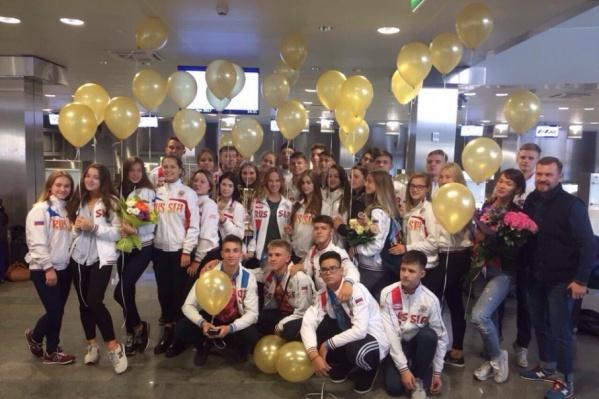 Тюменские танцоры из ансамблей, которые завоевали высокие награды