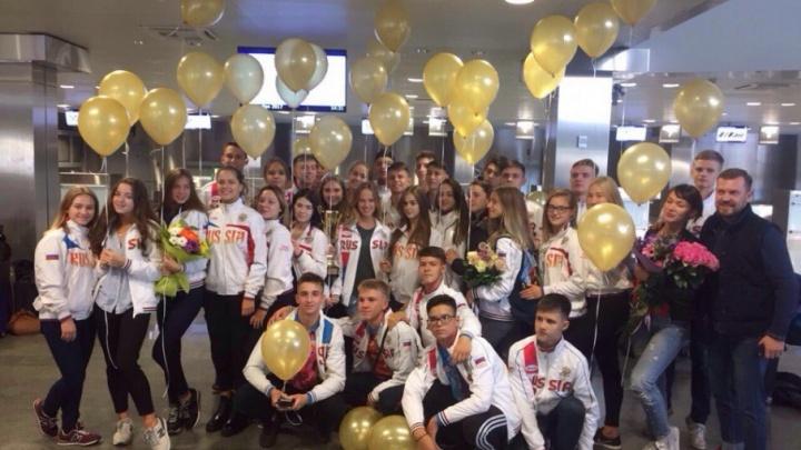 Тюменские ансамбли вернулись домой с чемпионата и первенства России с медалями
