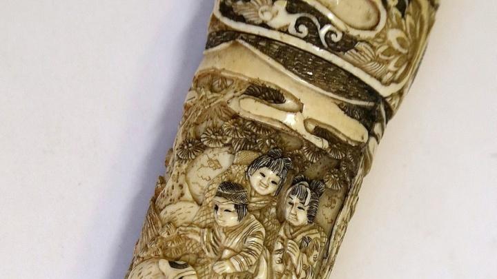 Откуда на Урале меч самурая: выставка одного экспоната открылась в челябинском музее