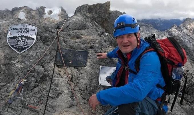 Волгоградец Олег Савченко 600 метров лез вверх по вертикальной стене