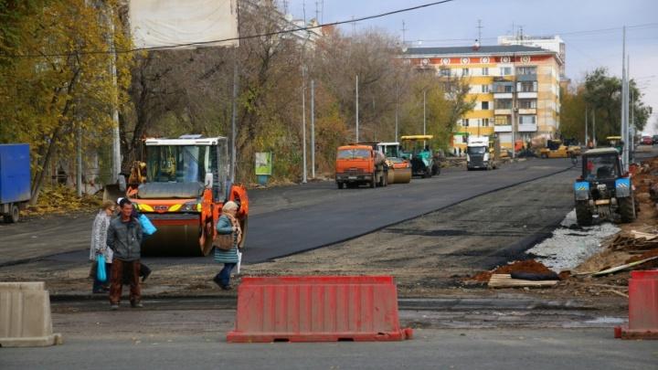 Движение на участке Ново-Садовой возле «Макдоналдса» откроют на этой неделе