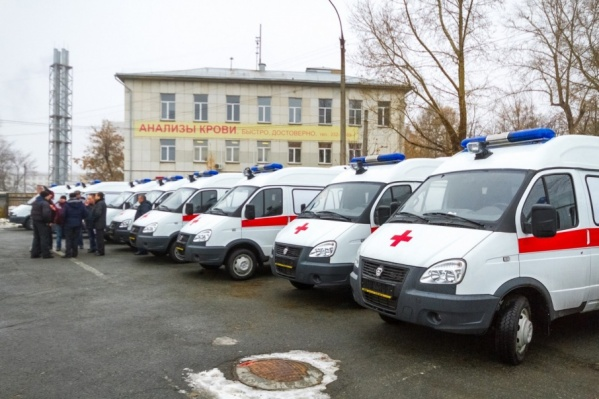 Машины передали Челябинску еще 31 октября