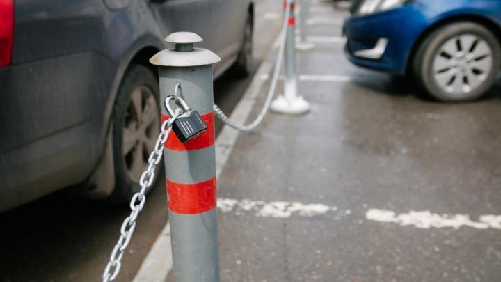 В Самаре на Волжском проспекте снесли незаконные парковочные места