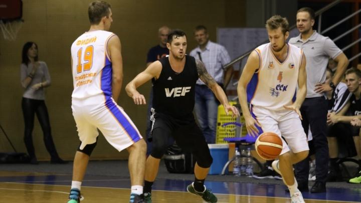 Баскетболисты «Самары» вырвали победу у серебряного призера чемпионата Литвы